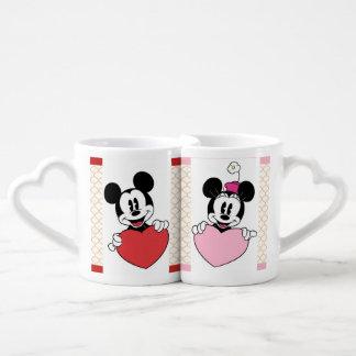 Tazas de Mickey y de Minnie