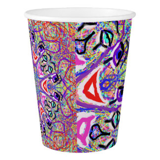 """Tazas de papel sagradas de los '' payasos"""" de la vaso de papel"""