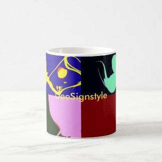 Tazas del logotipo de DeeSignstyle