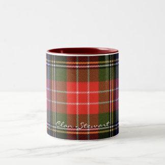 Tazas escocesas del diseñador del tartán de
