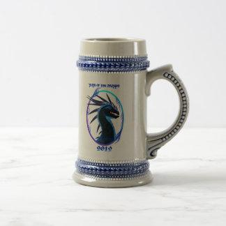 tazas negras del dragón 2012-Horned