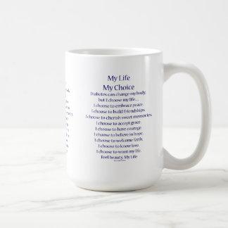 Tazas o tazas del poema de la ayuda de la concienc