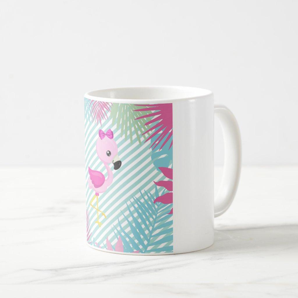 Tazas Personalizadas Flamenco Rosa Baby