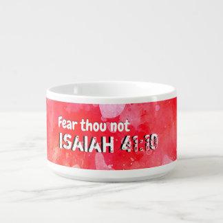 Tazón Isaías 41 10 que consolidaré