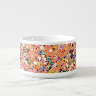 Tazón Purpurina moderno #5 de la arena del mosaico