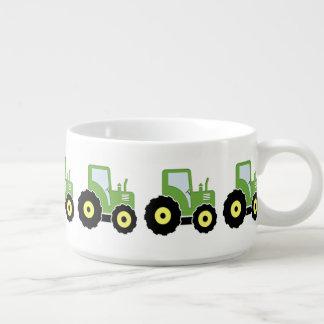 Tazón Tractor verde del juguete