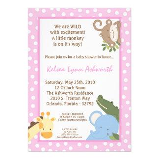 TBA invitación de la fiesta de bienvenida al beb