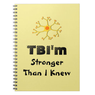 TBI'm más fuerte que mí sabía Cuaderno