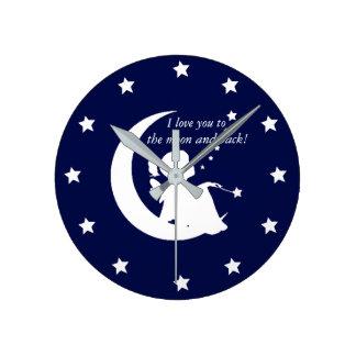 Te amo a la luna y al reloj trasero