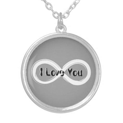 Te amo collar del infinito el |
