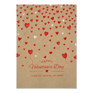 Te amo con toda mi tarjeta del el día de San
