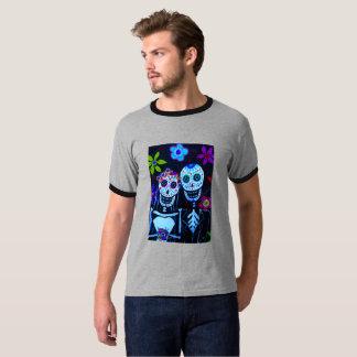 Te amo Dia de los Muertos Wedding Camiseta