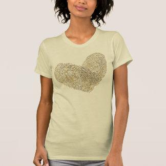 Te amo diseño del texto del el día de San Valentín Camiseta