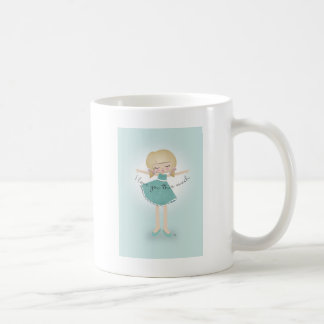 Te amo este mucho taza básica blanca