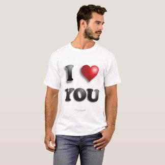 TE AMO feliz positivo anti de Microagression buen Camiseta