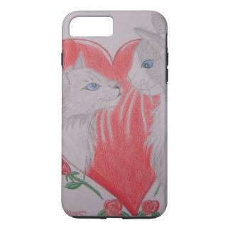 Te amo gatos funda iPhone 7 plus