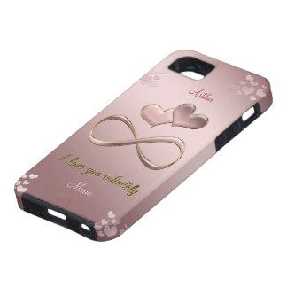 Te amo infinitamente rosa del el día de San Funda Para iPhone SE/5/5s