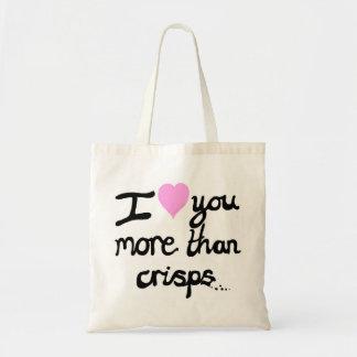 Te amo más que bolso de las patatas a la inglesa