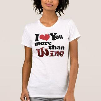 Te amo más que la camiseta del vino
