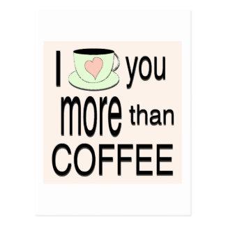 Te amo más que la postal del café