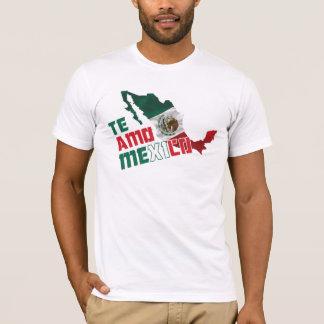Te Amo México/te amo México Camiseta