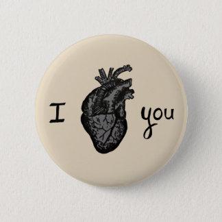 Te amo perno del botón