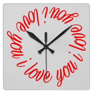 Te amo reloj