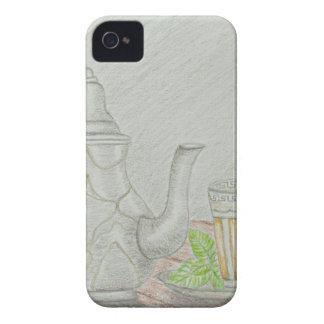 té con la menta carcasa para iPhone 4