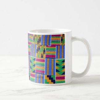 Té de Kente de la taza de café