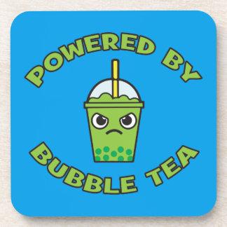 Té de la burbuja, accionado por el té de la posavasos