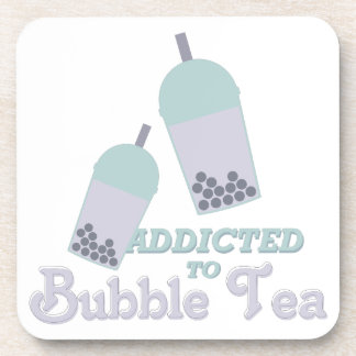 Té de la burbuja posavasos de bebidas