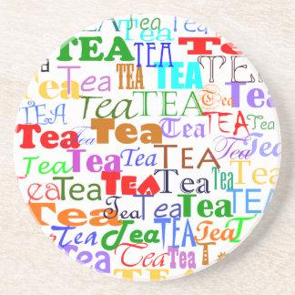 ¡Té del té del té! Posavasos Para Bebidas