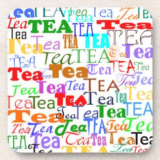 ¡Té del té del té! Posavasos De Bebida
