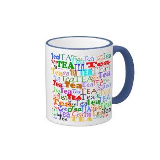 ¡Té del té del té! Taza De Dos Colores