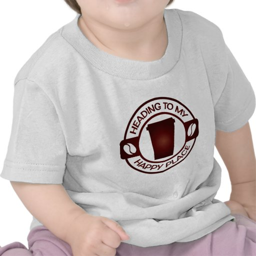 té feliz starbucks del café del lugar camisetas