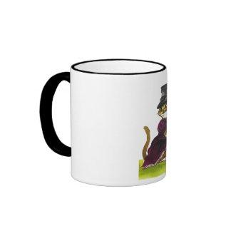Té para dos taza de dos colores