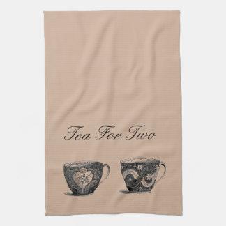 Té para la toalla de té dos