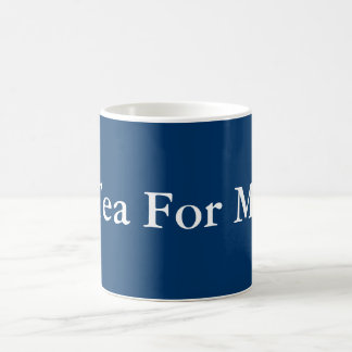 Té para mí tazas de café