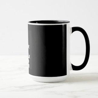 Té sarcástico fresco del café de la taza
