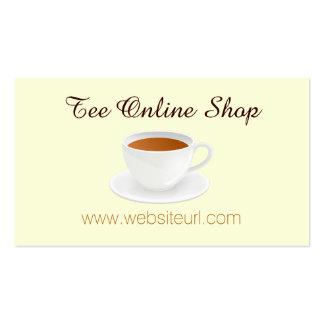 Té Shop Tarjetas De Visita