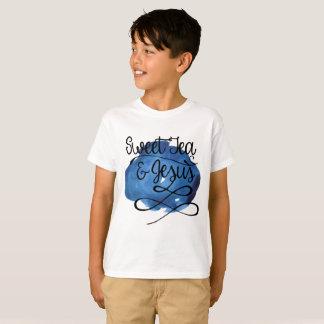 Té y Jesús dulces CHILDS - AZUL Camiseta