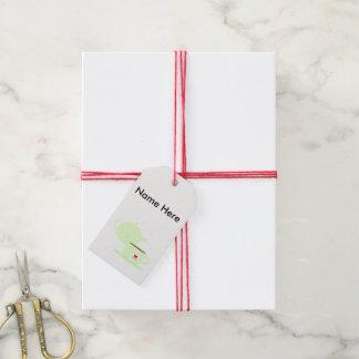 Té y tetera etiquetas para regalos