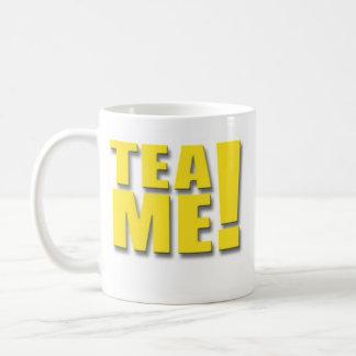 ¡TÉ YO!  -   Amarillo Taza De Café