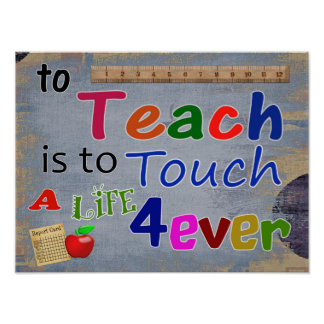 Teach es tocar para siempre-- IMPRESIÓN DEL ARTE