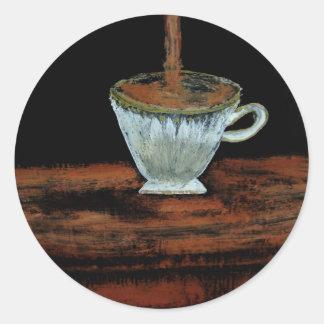 Teatime Pegatinas Redondas