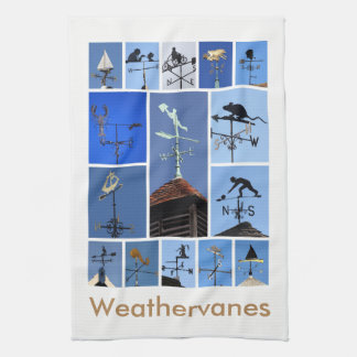 Teatowel de los Weathervanes Toalla De Mano