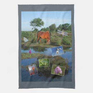 Teatowel del montaje del bosque toalla