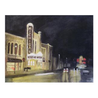 Teatro Ann Arbor de Michigan Postal