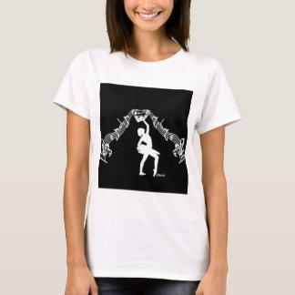 Teatro, danza, y música camiseta