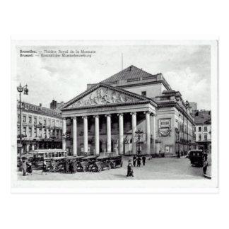 Teatro de Bruselas, Bélgica real Postal